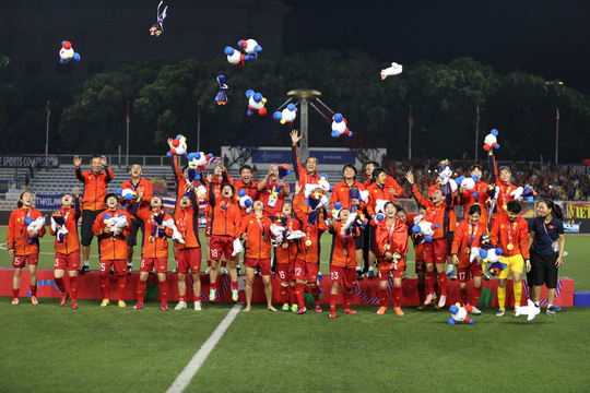Novaland thưởng 850 triệu đồng cho tuyển nữ Việt Nam - Ảnh 1.