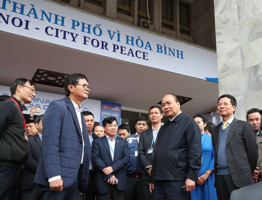 Thủ tướng lần thứ 3 thị sát công tác chuẩn bị Hội nghị Thượng đỉnh Mỹ-Triều - Ảnh 1.