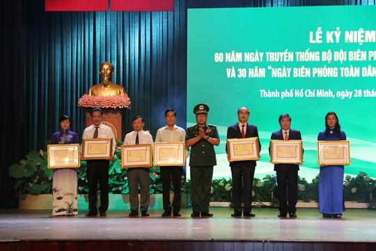 Bí thư Nguyễn Thiện Nhân dự kỷ niệm 60 năm Ngày truyền thống Bộ đội Biên phòng - Ảnh 2.