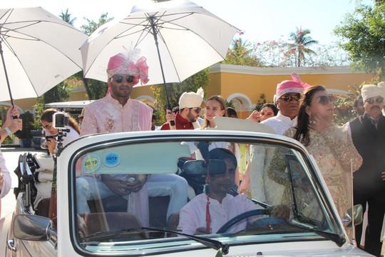 Lộng lẫy lễ cưới chính thức của tỉ phú Ấn Độ tại Phú Quốc - Ảnh 4.
