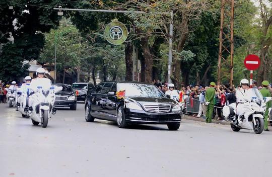 Chủ tịch Triều Tiên Kim Jong-un rời Hà Nội, lên đường về nước - Ảnh 1.