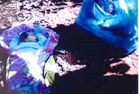 Bé trai 2 tháng tuổi bị bỏ rơi trong đêm - Ảnh 1.