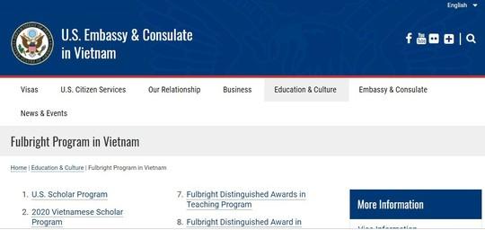 Chương trình Học giả Fulbright Việt Nam chọn ứng viên - Ảnh 1.
