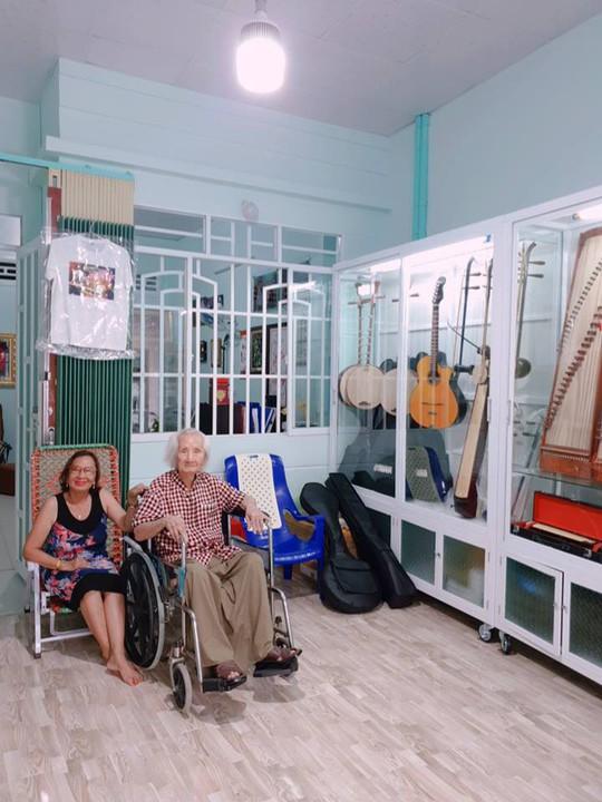 Nhạc sư 101 tuổi mở hiệu đàn dân tộc trên đất sen hồng - Ảnh 6.