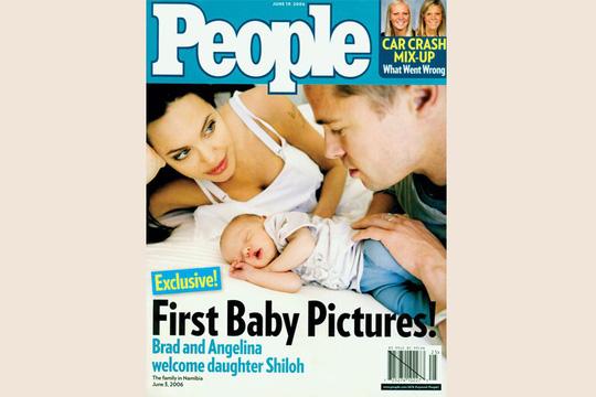 Giá sốc với những bức ảnh gia đình Angelina Jolie và Brad Pitt - Ảnh 2.