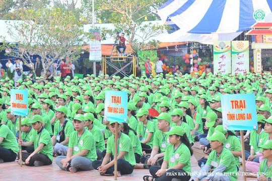 """Hơn 1.500 bạn trẻ về Cần Thơ tham gia Hội trại """"Tuổi trẻ và Phật giáo"""" - Ảnh 2."""