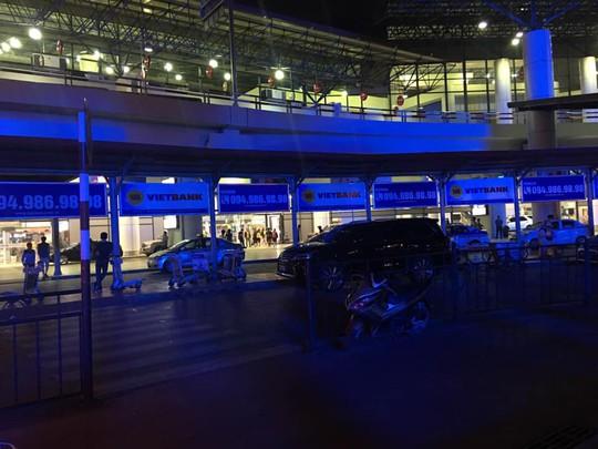Sân bay Nội Bài như thế nào khi tắt điện vào Giờ trái đất? - Ảnh 2.