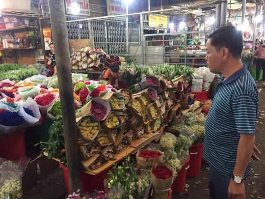 Chưa đến 8-3, giá hoa hồng ở TP HCM đã tăng chóng mặt  - Ảnh 2.