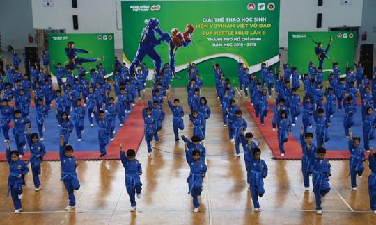 Gần 2.000 võ sinh tham dự giải Vovinam học sinh TP HCM  - Ảnh 1.