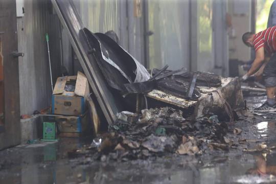 Cận cảnh hiện trường cháy nhà xưởng kinh hoàng, 8 người tử vong và mất tích - Ảnh 5.
