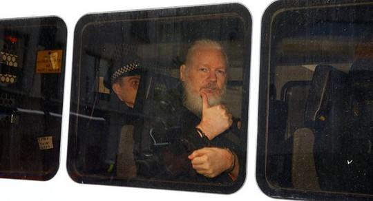 Phát hiện Mỹ đã nhúng tay trong vụ bắt nhà sáng lập WikiLeaks - Ảnh 1.