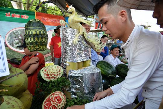 Đặc sắc Lễ hội dưa hấu lần đầu tiên ở Việt Nam - Ảnh 10.