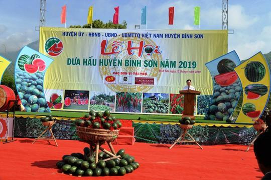 Đặc sắc Lễ hội dưa hấu lần đầu tiên ở Việt Nam - Ảnh 6.