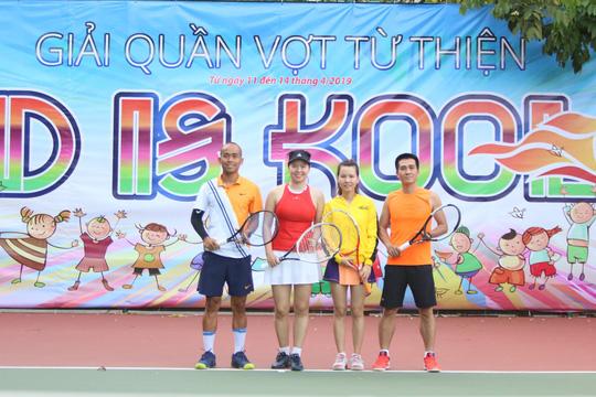 """Quyên góp 160 triệu đồng từ Giải Tennis từ thiện """"Kind is Kool"""" mở rộng - Ảnh 5."""