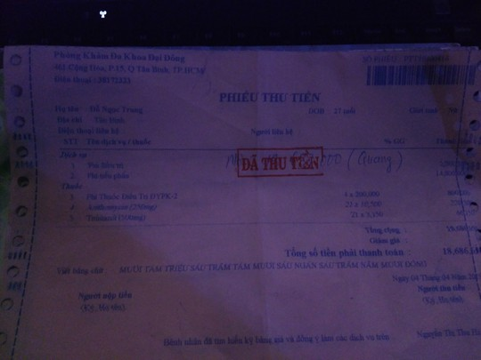 TP HCM: Tước giấy phép, tạm ngừng hoạt động 2 phòng khám Trung Quốc - Ảnh 2.