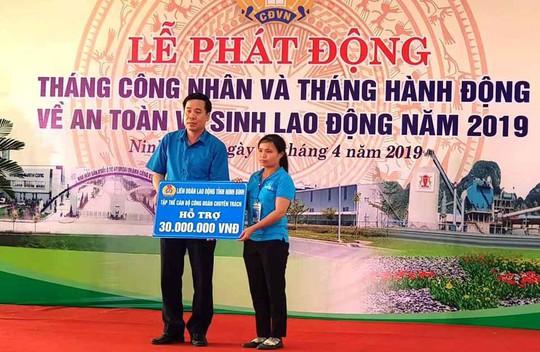 Ninh Bình: Phát động Tháng Công nhân năm 2019 - Ảnh 1.