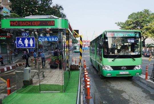 TP HCM sẽ có bãi giữ xe máy cho khách đi xe buýt - Ảnh 1.