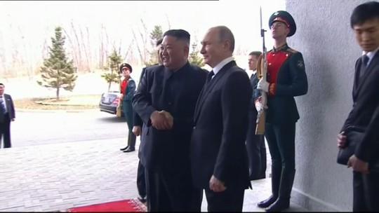 Hai nhà lãnh đạo Nga, Triều Tiên hội đàm - Ảnh 3.