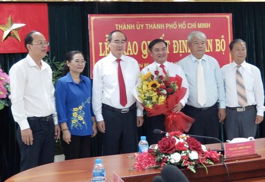 Ông Trần Trọng Tuấn giữ chức Bí thư Quận ủy quận 3 - Ảnh 1.