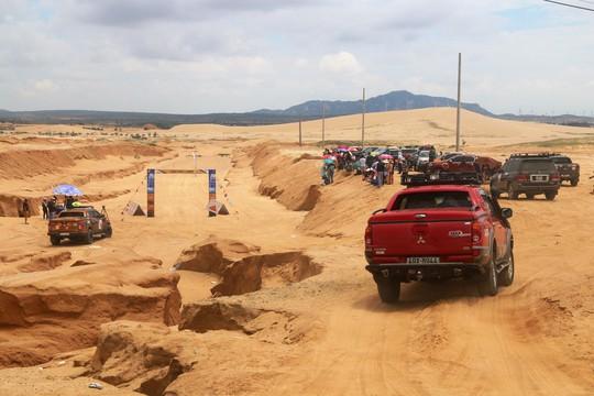 Quá hấp dẫn giải đua xe địa hình sa mạc ở Ninh Thuận - Ảnh 2.