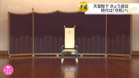 Lễ thoái vị của Nhật Hoàng diễn ra chóng vánh - Ảnh 4.