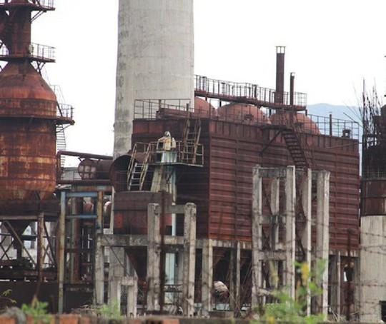 Cận cảnh nhà máy thép 1.700 tỉ đồng bỏ hoang đem đấu giá chỉ hơn 100 tỉ đồng - Ảnh 7.
