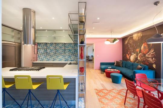 Ngôi nhà đẹp như một bức tranh rực rỡ sắc màu - Ảnh 5.