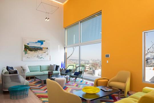 Ngôi nhà đẹp như một bức tranh rực rỡ sắc màu - Ảnh 7.