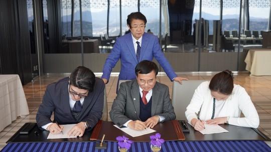 Tập đoàn M&K Nhật Bản ký kết hợp tác toàn diện với Đại học Đông Á - Ảnh 1.