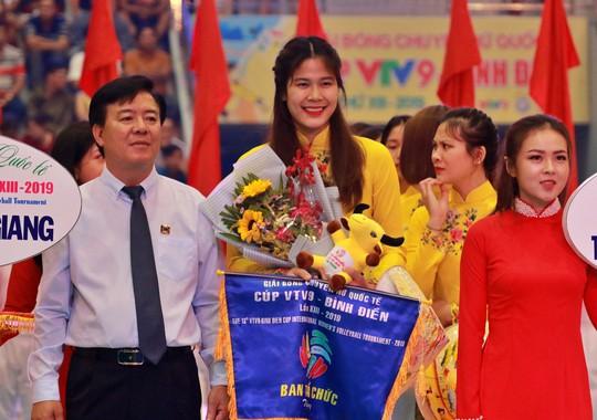 VTV Bình Điền Long An đánh bại Đại học Nam Kinh (Trung Quốc) - Ảnh 1.