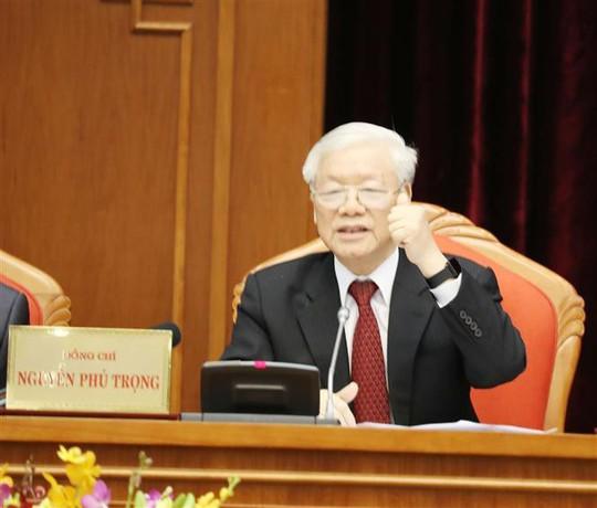 Cận cảnh khai mạc Hội nghị Trung ương 10 - Ảnh 8.
