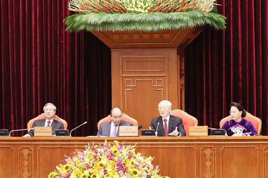 Cận cảnh khai mạc Hội nghị Trung ương 10 - Ảnh 10.