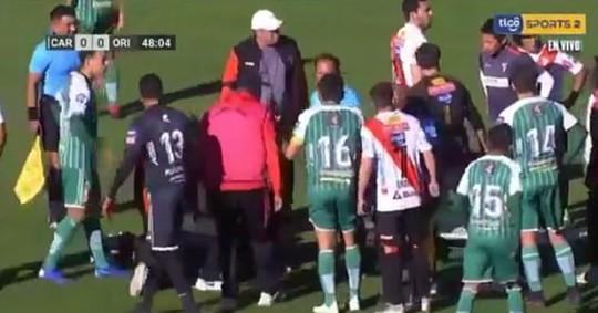 Clip: Trọng tài Bolivia đột tử sau 2 cơn đau tim - Ảnh 2.