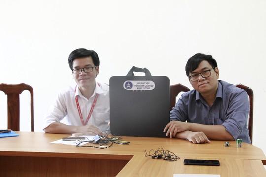 Xem máy chống gian lận thi cử do Đại học Tây Nguyên chế tạo - Ảnh 1.