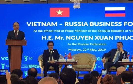 Thủ tướng: Doanh nghiệp Nga hãy yên tâm, con cháu các bạn cũng yên tâm làm ăn tại Việt Nam - Ảnh 2.