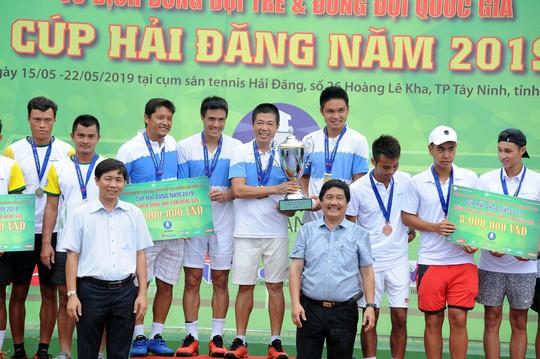 Giải Quần vợt Đồng đội nam quốc gia 2019: Hải Đăng Tây Ninh thắng áp đảo, lên ngôi vương xứng đáng - Ảnh 4.