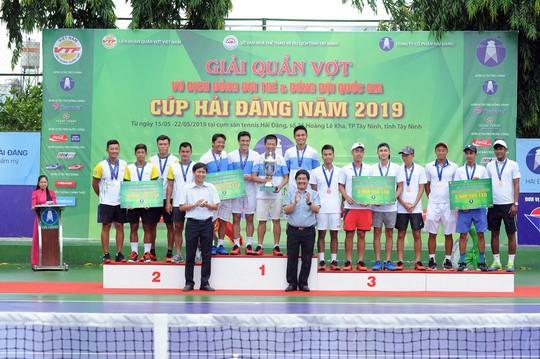 Giải Quần vợt Đồng đội nam quốc gia 2019: Hải Đăng Tây Ninh thắng áp đảo, lên ngôi vương xứng đáng - Ảnh 8.