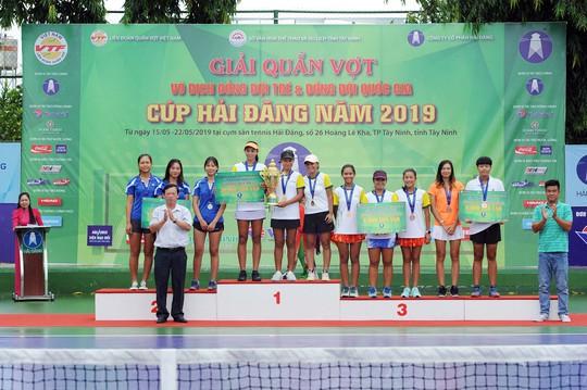Giải Quần vợt Đồng đội nam quốc gia 2019: Hải Đăng Tây Ninh thắng áp đảo, lên ngôi vương xứng đáng - Ảnh 7.