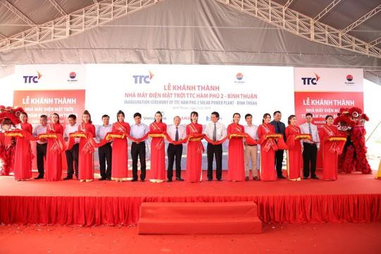 Khánh thành nhà máy điện mặt trời TTC - Hàm Phú 2 - Ảnh 1.