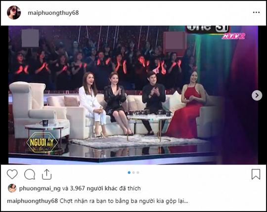 Hoa hậu Mai Phương Thúy phát tướng, khán giả ngỡ ngàng - Ảnh 1.
