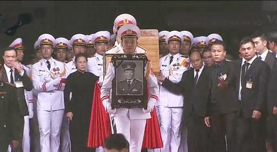 Lễ truy điệu, đưa tang nguyên Chủ tịch nước Lê Đức Anh - Ảnh 2.