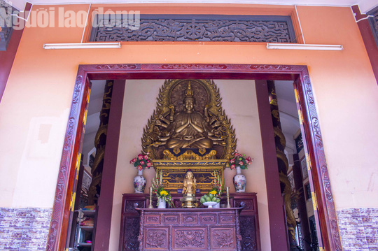Chiêm ngưỡng ngôi chùa vùng biên giới có tượng Phật cao nhất miền Tây - Ảnh 20.