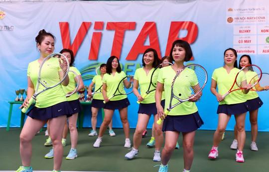 Tưng bừng Giải Quần vợt ViTAR Open 2019 - Ảnh 4.