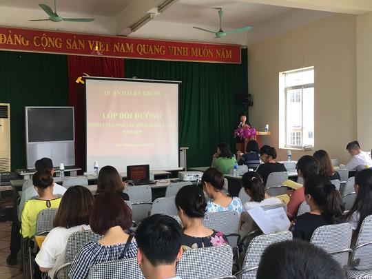 Hà Nội: Bồi dưỡng nghiệp vụ cho cán bộ Công đoàn - Ảnh 1.