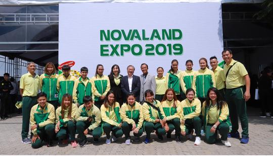 Tập đoàn Novaland tài trợ khủng cho bóng rổ nữ TP HCM - Ảnh 2.