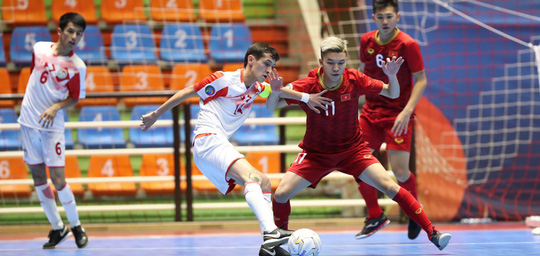 Việt Nam đánh bại Tajikistan, lấy vé vào tứ kết VCK U20 Futsal châu Á 2019 - Ảnh 3.