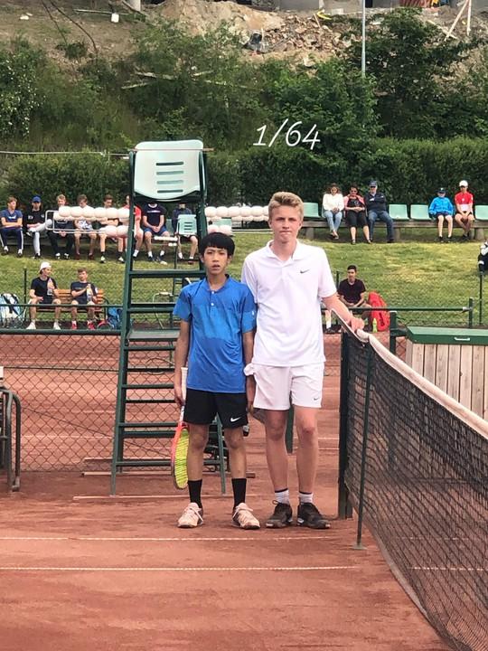 13 tuổi nhưng Phạm Lê Hoàng Anh vô địch U16 Giải Quần vợt ở Thụy Điển - Ảnh 3.