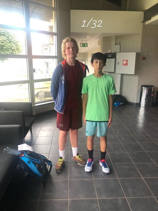 13 tuổi nhưng Phạm Lê Hoàng Anh vô địch U16 Giải Quần vợt ở Thụy Điển - Ảnh 4.