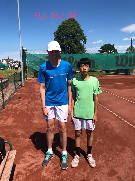 13 tuổi nhưng Phạm Lê Hoàng Anh vô địch U16 Giải Quần vợt ở Thụy Điển - Ảnh 6.