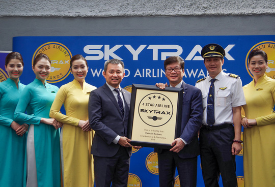 Vietnam Airlines nhận chứng chỉ Hãng hàng không quốc tế 4 sao - Ảnh 2.